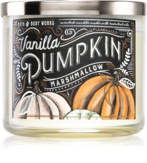 Bath & Body Works Vanilla Pumpkin Marshmallow illatos gyertya  esszenciális olajokkal