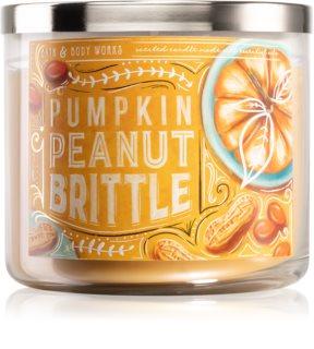 Bath & Body Works Pumpkin Peanut Brittle candela profumata