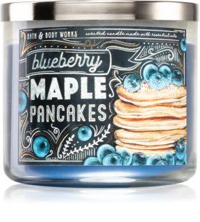 Bath & Body Works Blueberry Maple Pancakes vonná svíčka