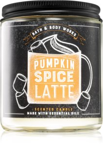 Bath & Body Works Pumpkin Spice Latte αρωματικό κερί Ι.