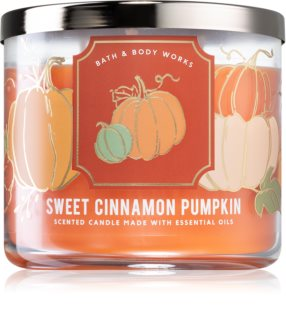 Bath & Body Works Sweet Cinnamon Pumpkin geurkaars I.