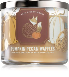 Bath & Body Works Pumpkin Pecan Waffles geurkaars III.