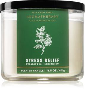 Bath & Body Works Aromatherapy Eucalyptus & Spearmint geurkaars I.