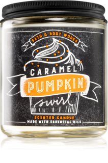 Bath & Body Works Caramel Pumpkin Swirl bougie parfumée III. 198 g