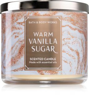 Bath & Body Works Warm Vanilla Sugar bougie parfumée