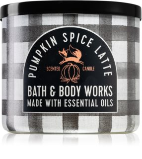 Bath & Body Works Pumpkin Spice Latte geurkaars I.