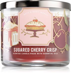 Bath & Body Works Sugared Cherry Crisp vela perfumada I.
