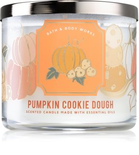 Bath & Body Works Pumpkin Cookie Dough geurkaars I.