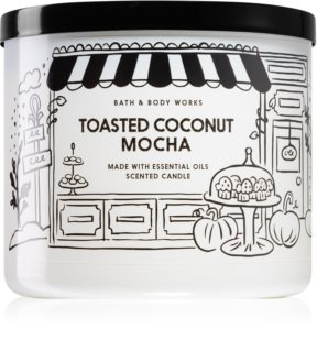 Bath & Body Works Toasted Coconut Mocha ароматическая свеча I.