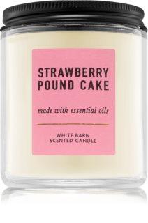 Bath & Body Works Strawberry Pound Cake geurkaars I.