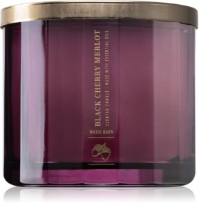 Bath & Body Works Black Cherry Merlot illatos gyertya  II.