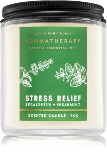 Bath & Body Works Aromatherapy Eucalyptus & Spearmint bougie parfumée