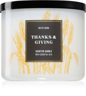 Bath & Body Works Thanks & Giving bougie parfumée
