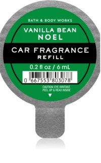 Bath & Body Works Vanilla Bean Noel auto luchtverfrisser  Navulling  6 ml