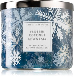 Bath & Body Works Frosted Coconut Snowball aроматична свічка