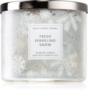 Bath & Body Works Fresh Sparkling Snow ароматическая свеча