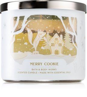 Bath & Body Works Merry Cookie vonná sviečka
