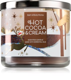 Bath & Body Works Hot Cocoa & Cream bougie parfumée II.