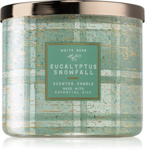 Bath & Body Works Eucalyptus Snowfall Duftkerze   I.