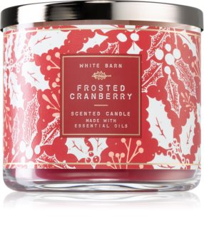 Bath & Body Works Frosted Cranberry geurkaars II.