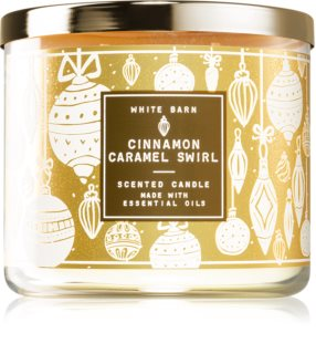 Bath & Body Works Cinnamon Caramel Swirl duftlys