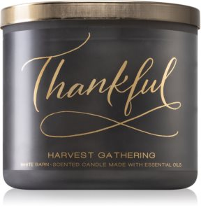 Bath & Body Works Harvest Gathering scented candle I.