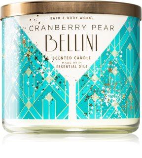 Bath & Body Works Cranberry Pear Bellini vela perfumada