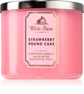 Bath & Body Works Strawberry Pound Cake ароматическая свеча II.