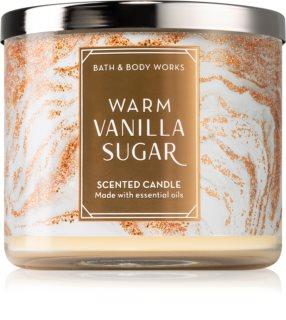 Bath & Body Works Warm Vanilla Sugar bougie parfumée