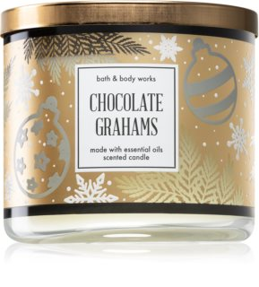 Bath & Body Works Chocolate Grahams αρωματικό κερί