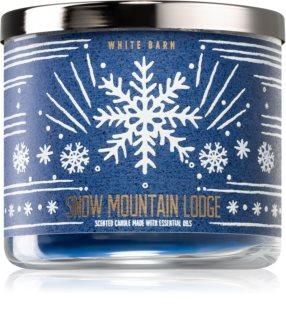 Bath & Body Works Snow Moutain Lodge geurkaars