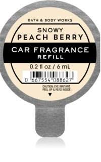 Bath & Body Works Snowy Peach Berry Autoduft Ersatzfüllung