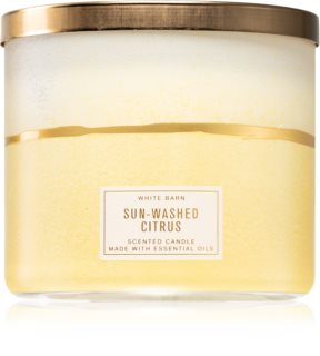 Bath & Body Works Sun-Washed Citrus illatos gyertya