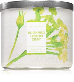 Bath & Body Works Sugared Lemon Zest illatos gyertya