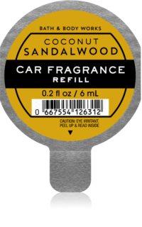 Bath & Body Works Coconut Sandalwood autoduft Ersatzfüllung