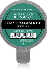 Bath & Body Works White Tea and Sage ароматизатор для салона автомобиля сменный блок