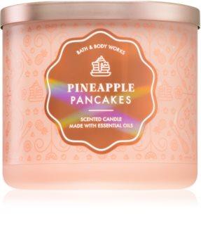 Bath & Body Works Pineapple Pancakes vela perfumada