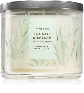 Bath & Body Works Sea Salt & Balsam aроматична свічка