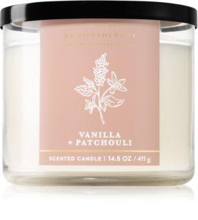 Bath & Body Works Vanilla and Patchouli ароматическая свеча I.
