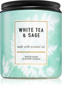 Bath & Body Works White Tea & Sage Tuoksukynttilä I.