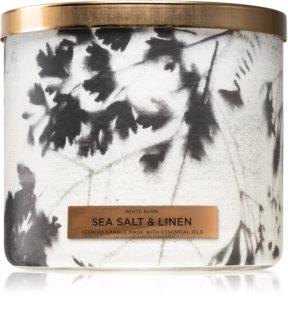 Bath & Body Works Sea Salt & Linen świeczka zapachowa
