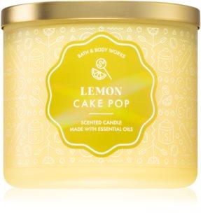 Bath & Body Works Lemon Cake Pop αρωματικό κερί 411 γρ