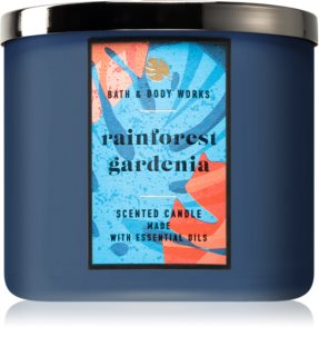 Bath & Body Works Rainforest Gardenia αρωματικό κερί 411 γρ