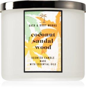 Bath & Body Works Coconut Sandalwood bougie parfumée