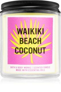 Bath & Body Works Waikiki Beach Coconut Duftkerze