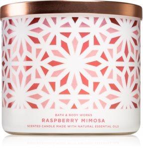 Bath & Body Works Raspberry Mimosa vela perfumada