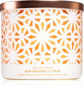 Bath & Body Works Sun-Washed Citrus geurkaars I.