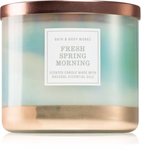 Bath & Body Works Fresh Spring Morning vela perfumada