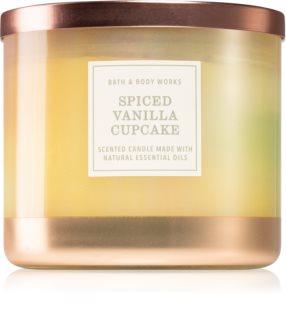 Bath & Body Works Spiced Vanilla Cupcake dišeča sveča