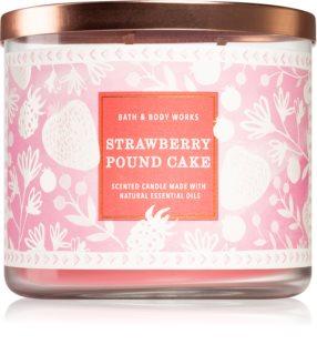 Bath & Body Works Strawberry Pound Cake geurkaars